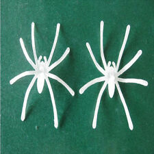 Lustig Spielzeug am Halloween Aprilscherz 10× Emittierend Spinnen aus Kunststoff