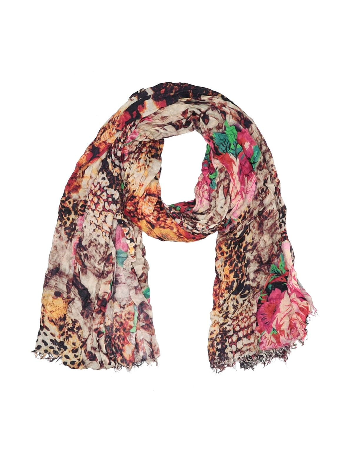 Lucky & Coco Women Pink Scarf One Size