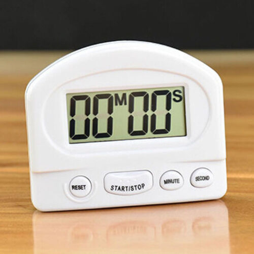 Practical Gadgets LCD Kitchen Timer Digital Cooking Tools Count Up Down