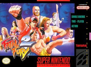 Fatal-Fury-2-Super-Nintendo-SNES-Game-Used