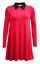 Women-Ladies-Mother-039-s-Day-Peter-Pan-Collar-A-Line-Contrast-Collar-Swing-Dress thumbnail 14