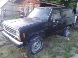 1986 Ford Bronco II XLT