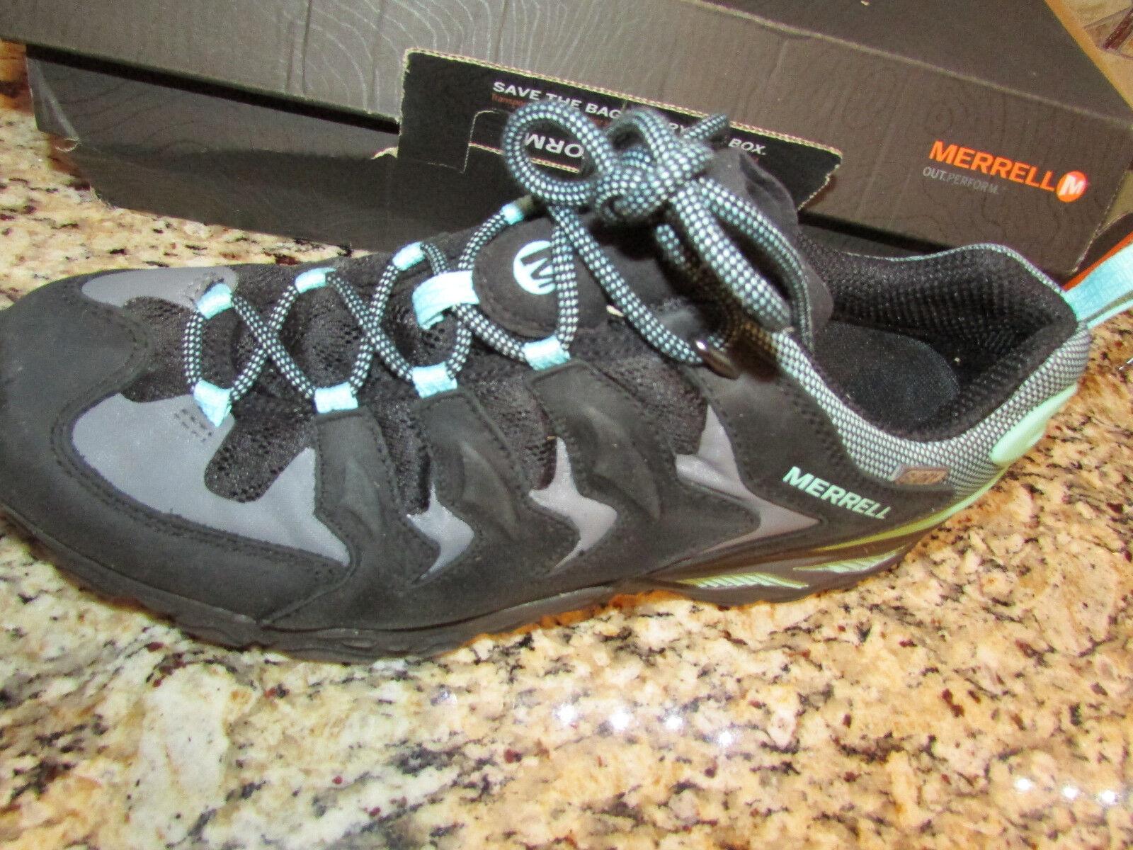 Zapatos de Cuero nuevos Impermeables Merrell Camufladas Shift para para para Mujer 10.5 Senderismo  Más asequible