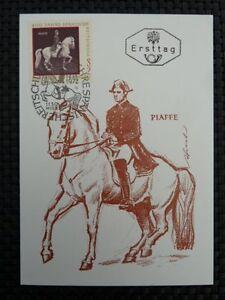 AUSTRIA-MK-1972-1396-REITSCHULE-MAXIMUMKARTE-MAXIMUM-CARD-MC-PFERD-HORSE-a8532