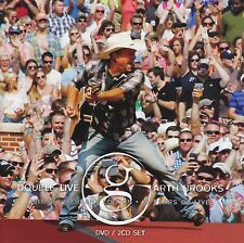 GARTH BROOKS (2 CD + DVD) DOUBLE LIVE 25th ANNIVERSARY EDITION ~ COUNTRY *NEW*