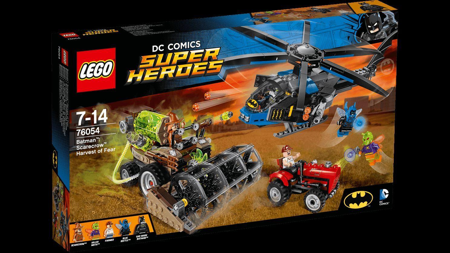 Lego Super Heroes 76054 Batman il raccolto della paura di Scarecrow Nuovo