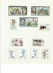 S31043-Spain-MNH-1983-All-Completa-Sets-As-para-5-Scan