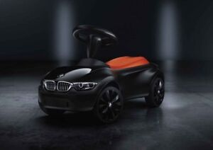 original bmw baby racer iii black orange new bmw bobby car. Black Bedroom Furniture Sets. Home Design Ideas