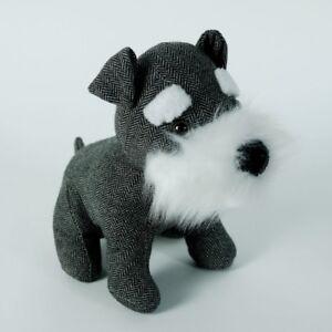 Image Is Loading Cute Dog Door Stopper Fabric Door Stop Schnauzer