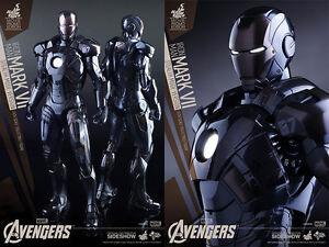 Hot Toys Sideshow Exclusif Iron-Man Mark 7 Mode Furtif 1/6 Figurine Miniature