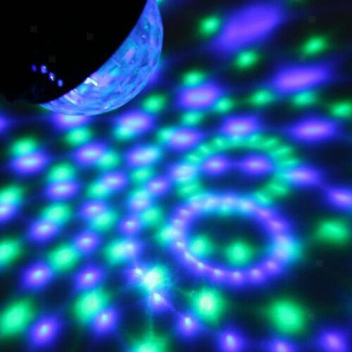 Rotierende Licht Disco DJ Party Kristallkugel Rgb Effekt
