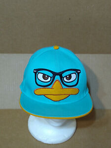 Perry-The-Platypus-Phinias-And-Ferb-flat-bill-Baseball-Cap-snapback-By-Disney