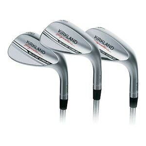 Kirkland Right Handed Signature 3 Piece Golf Wedge Set - Gap, Sand & Lob Wedges