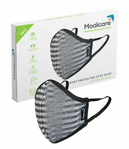 MODICARE PREMIUM LIMITED EDITION MASK-LIGHT GREY PACK OF 2
