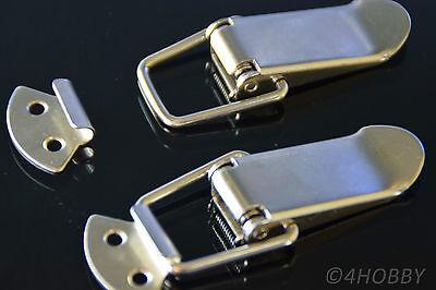 Hebel-verschluss Verschlüsse Grade Produkte Nach QualitäT Qualifiziert 2 Stück Edelstahl Spannverschluss Kistenverschluss Möbelbeschläge & -griffe