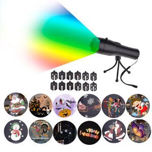 LED-Laser-Licht-Projektor-Weihnachtsdekoration-Weihnachtsbeleuchtung-Garten-Xmas
