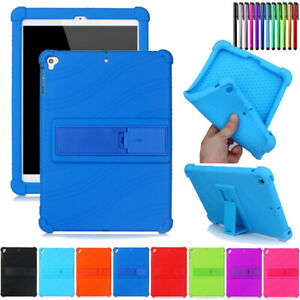For-iPad-9-7-inch-2017-2018-5678-Mini-5-Tablet-Silicone-Case-Cover-Shock-Proof