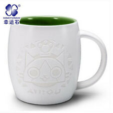 Game Monster Hunter Cup Ceramic Cup Embossed MHX Logo Cosplay Gift