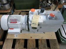 Leybold D60ac Trivac Rotary Vane Vacuum Pump 2 Hp 208v Rebuilt