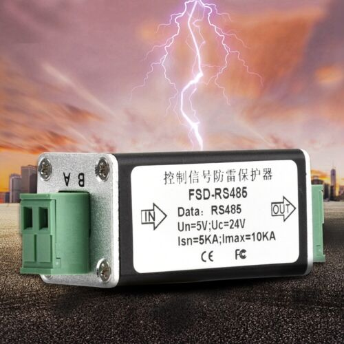 RS485 Data Single Channel Signal Surge Protector Lightning Protection Device