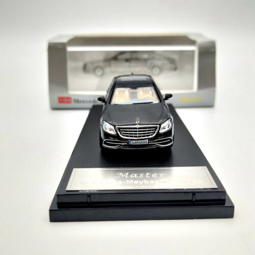 Master 1:64 Mercedes Benz Maybach S-Class S680 Diecast Model Car Collection Toys