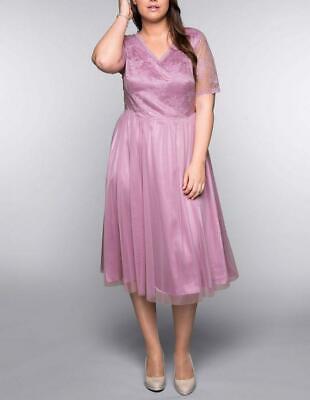 Sheego Style Abendkleid Partykleid Cocktailkleid Sommer Ball Kleid Gr 48 Neu Ebay