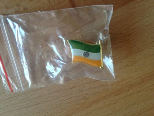 India Flag Pin Lapel Badge Indian High Quality Gloss Enamel