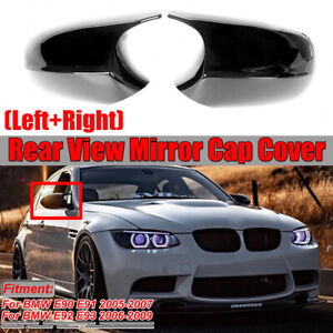 M3-Style-Replacement-Miroir-Couverture-Pour-BMW-3-Series-E90-E91-E92-E93-Pre-LCI