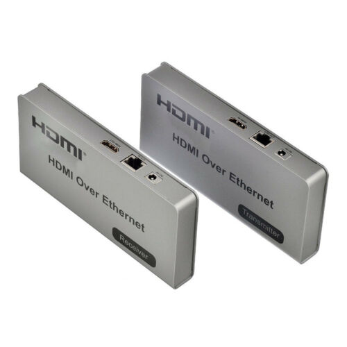 HDMI KVM Switch HDMI Over Network TCP//IP Extender Upto 120M with IR Cat5e Cat6