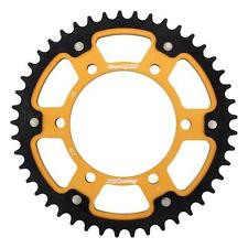 Supersprox Stealth Gold Rear Sprocket 530 Pitch 45 Teeth Yamaha FZ 1 N 7 2007