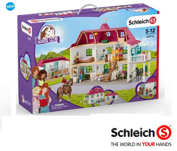 tienda en linea Schleich 42416 gran pferdehof con vivienda vivienda vivienda y establo neu&ovp  respuestas rápidas