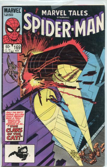 Marvel Tales: Spider-Man Issue  #169 (November 1984, Marvel Comics)