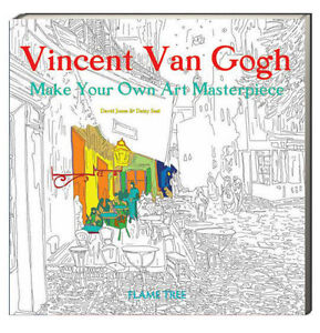 Image Is Loading Art Coloring Book Vincent Van Gogh Make Your