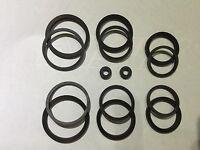NISSIN Front Brake Caliper Seal Kit for 6 Piston Caliper (Cast)