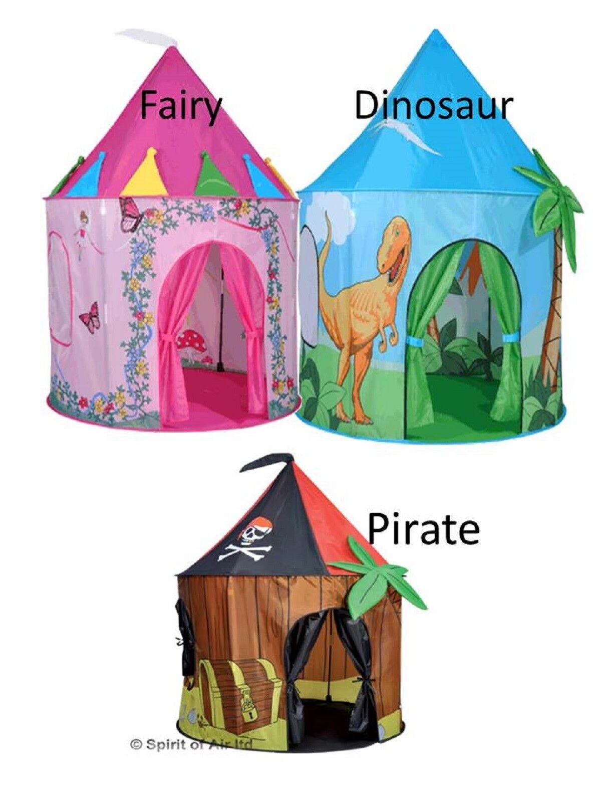 Kinder Spielzelt Mädchen Jungs Märchen Dinosaurier Kinder Pop Up Spielhaus
