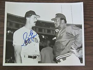 02f1370d8 Dwight Evans Autograph / Signed 8 X 10 Photo Boston Red Sox | eBay