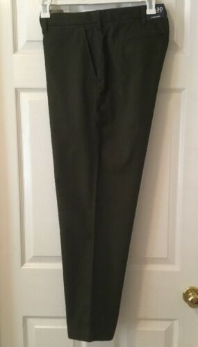 New LANDS' END Men's Flagship Traditional Fit Chino Pants Mossy Bark Green