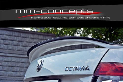 17 Verlängerung ABS CUP Heck Dach Spoiler für Octavia 3 III RS Facelift ab Bj