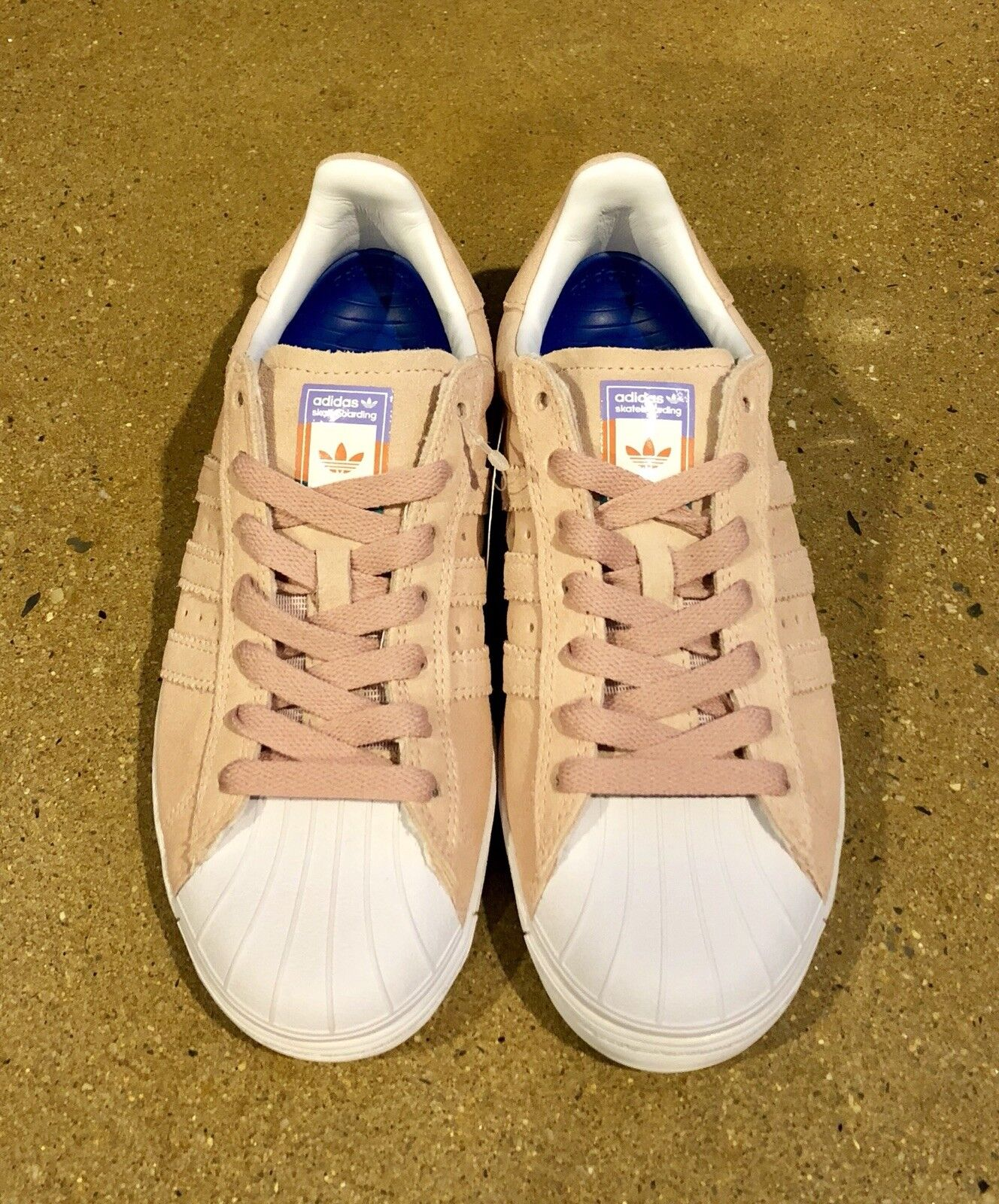 0784f080487e4 ... Adidas Skateboarding Superstar Vulc ADV Pastel Pink Size 4 4 4 Uomo s  Skate Shoes bb3529 ...