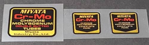 Miyata Cr-Mo Tubing Decals sku Miya805