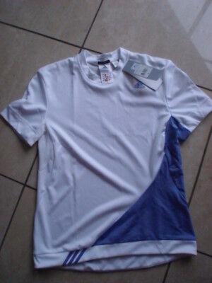 Adidas Tennis Donna T-shirts Tg. 36 Bianco/blu- Profitto Piccolo