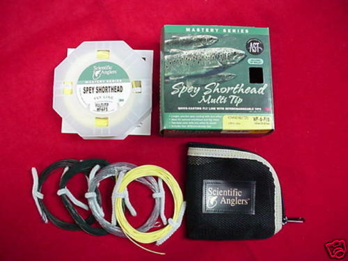 Scientific Angler Fly Line Short Head Spey Multi Tip  9