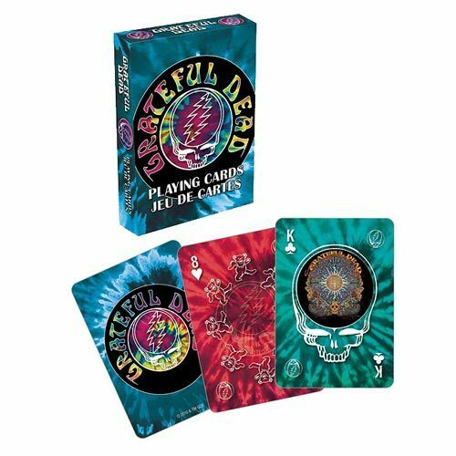 GRATEFUL DEAD TIEDYE DECK OF PLAYING CARDS