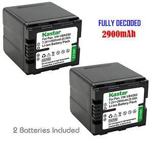 2x-Kastar-Battery-for-Panasonic-VW-VBN260-HDC-SD900-HDC-TM900