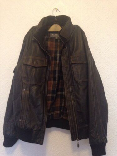 Brown Men's 3 Leather Ben Sherman l Size Jacket zw1xRq8