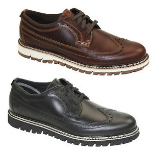 Timberland-Britton-Hill-BROGUE-OXFORD-scarpe-basse-uomo-normalissime-Business