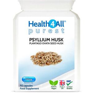 Health4All Psyllium Husk 550mg Capsules | NATURAL DIETARY