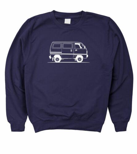 5XL Motorholics Mens Original Sketch Bedford Rascal Sweatshirt S