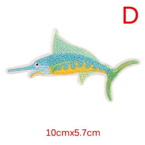 Mermaid Embroidery Sew Iron On Patch Badge Bag Clothes Fabric Applique Patch  X