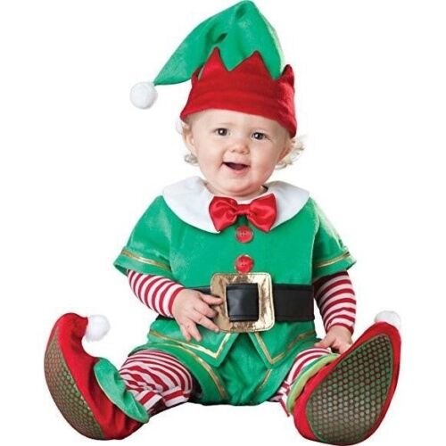 Baby Santa/'s Little Helper Elf Costume